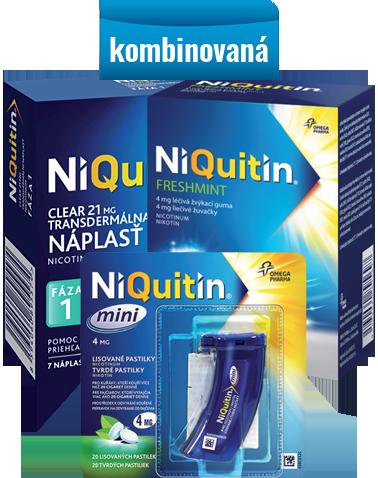 Niquitin – kombinovaná terapia