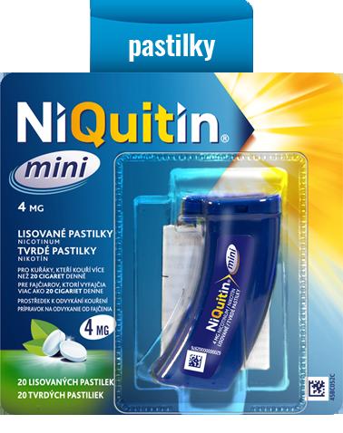 NiQuitin mini – tvrdé pastilky